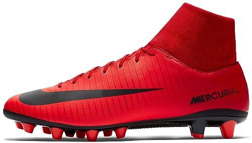 BOTA DE FUTBOL NIKE MERCURIAL VICTORY VI DF AG PRO  Amazon.es  Zapatos y  complementos 3022df7db6e03