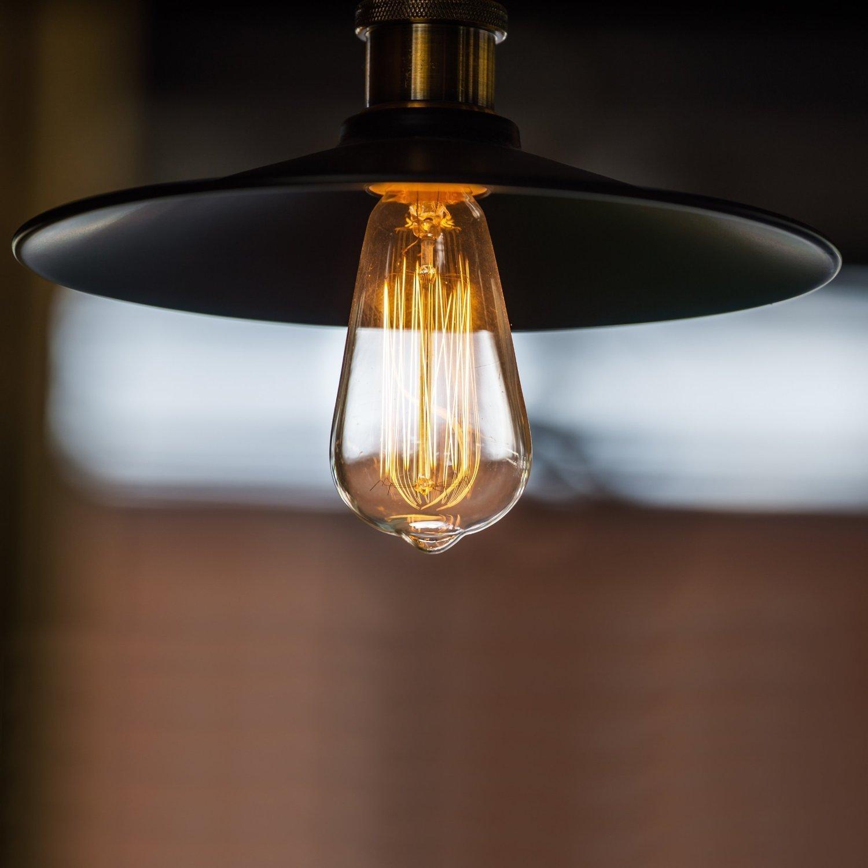 Lot de 6 GogoTool Edison Vintage Ampoule 40 W E27 2700-2900 K Intensit/é variable 340 lm Ampoule r/étro vintage antique Id/éal pour la nostalgie et l/éclairage r/étro dans la maison Caf/é Bar etc
