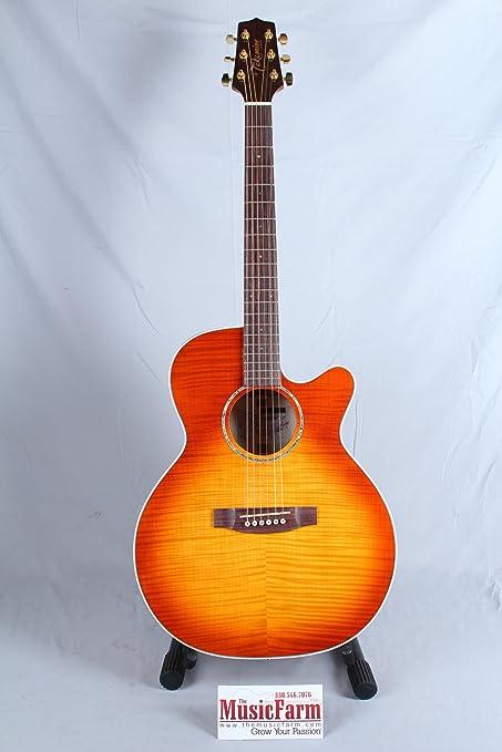 TAKAMINE eg444 C-vv – Vintage Violin Gloss Guitarra Électro acústica Folk Dance