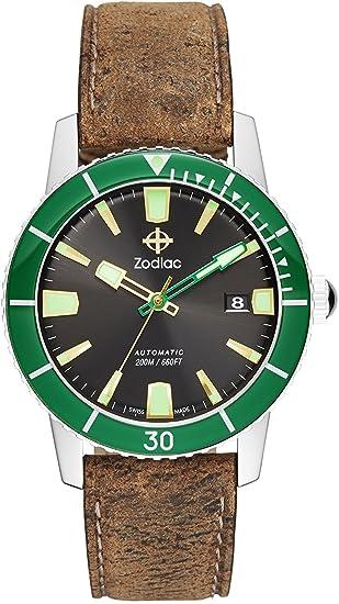 Zodiac Reloj Super Sea Wolf 53 zo9252 hombre