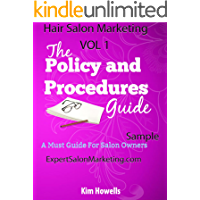 Salon Marketing:Policy and Procedures Manual Mark 2015
