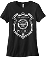 Threadrock Women's Grammar Police T-shirt