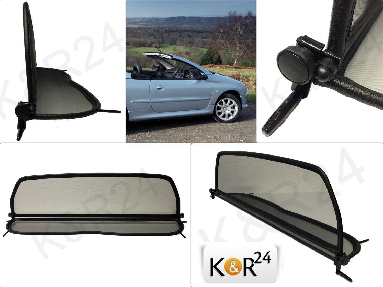 K & R Windschott Peugeot 206 cc Cabrio 206cc OVP Marken WINDSCHOTT