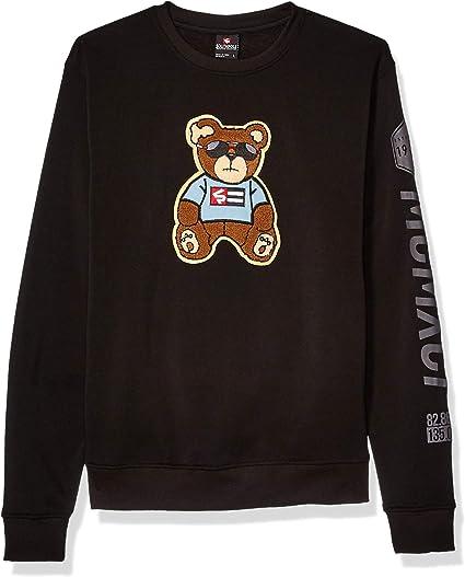 Rust Bear X-Large Southpole Mens Fleece Pullover Sweatshirt