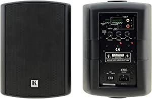 Kramer Surround Enhanced Bass Reflex Home Speaker, Set of 2, Black (Tavor 5-O (B))