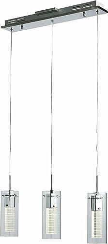 Trans Globe Lighting MDN-1202 Indoor Jazz 23.5 Pendant, Polished Chrome