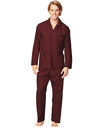 e01dc3292dd0 Hanes Mens Woven Pajamas at Amazon Men s Clothing store