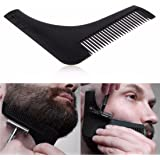 Inovera Beard Shaping & Styling Tool Comb, Assorted Colour