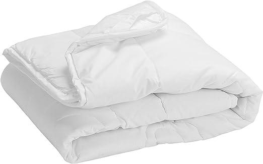 Pikolin Home - Edredón/Relleno nórdico de fibra, antialérgico (antiácaros, bacterias y moho), 100% algodón, 250gr/m², 150x220cm-Cama 80/90: Amazon.es: Hogar