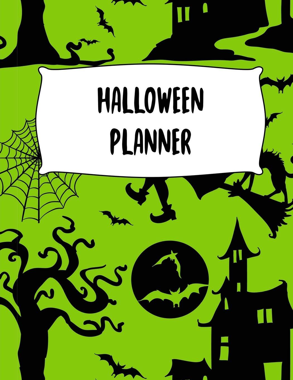 Halloween Planner Journal Organizer Plan Activities Party