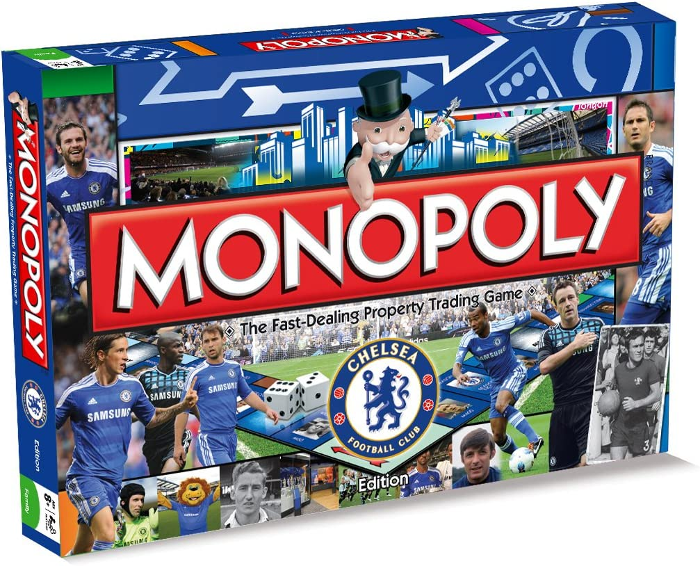 Chelsea FC Monopoly Board Game: Winning Moves: Amazon.es: Juguetes y juegos