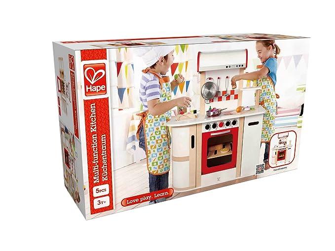 Küchentraum hape e8018 küchentraum weiß amazon de spielzeug