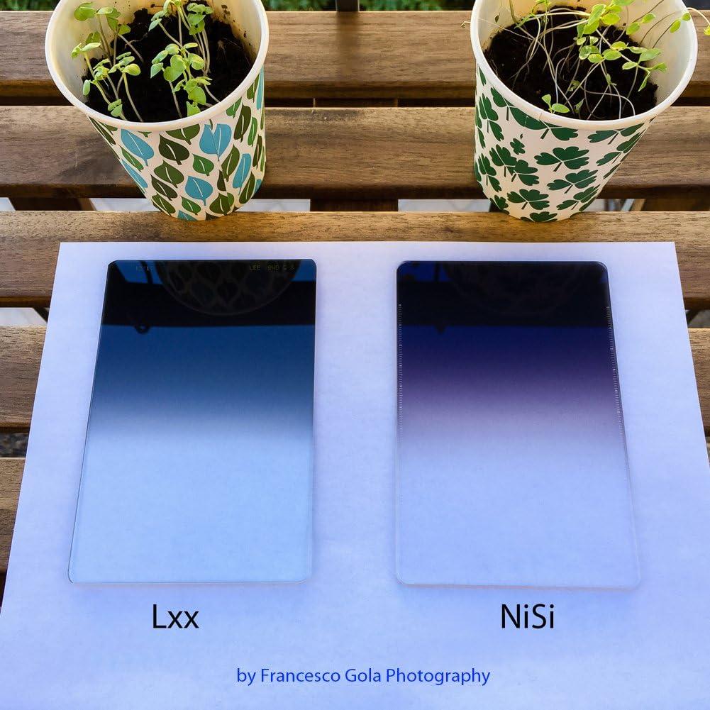 3-Stops NiSi Glass 100X150mm Nano Multicoated Graduated IR Neutral Density 0.9 Hard Edge Filter