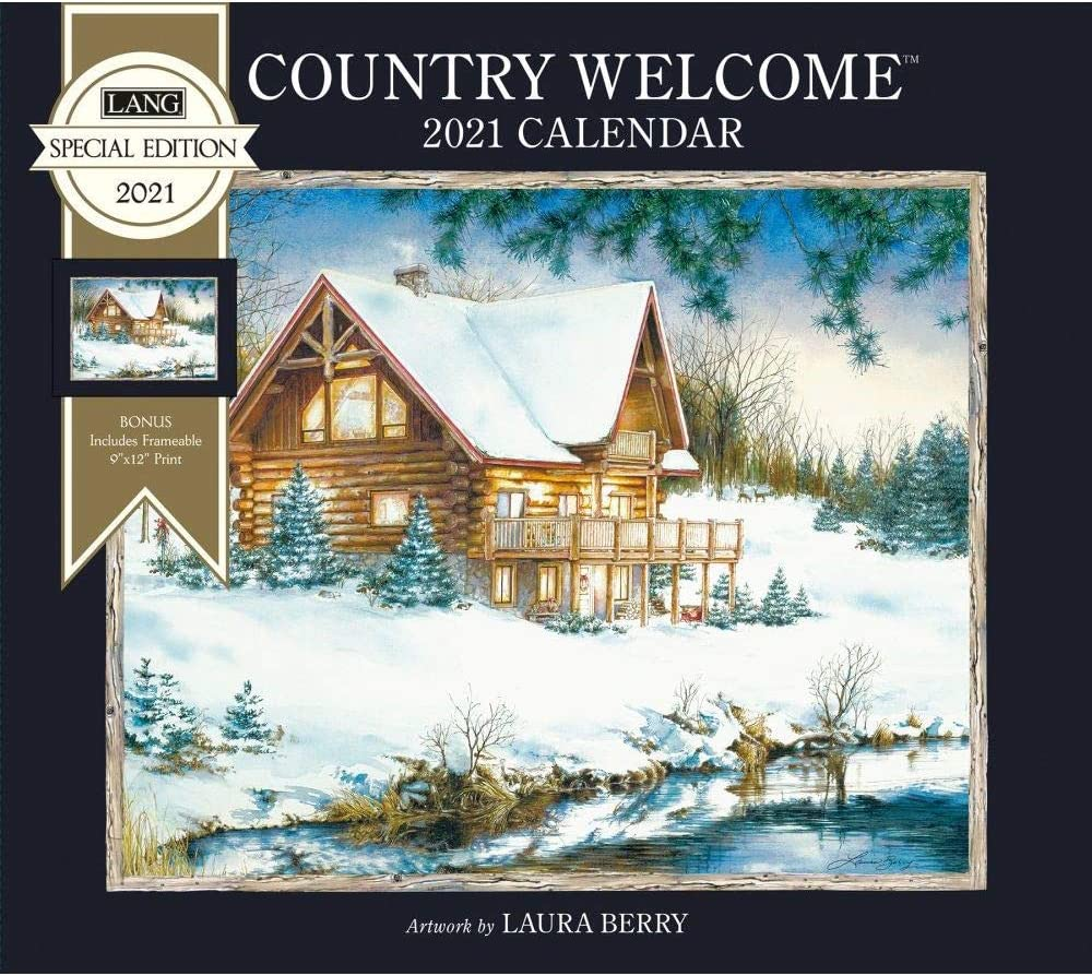 The Lang Companies, 2021 Country Welcome Special Edition Wall Calendar