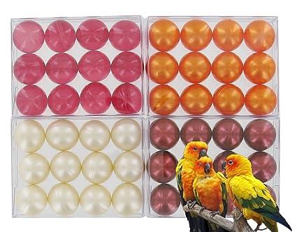 4 scatole di 12 perle da bagno - Exotic lotto: Amazon.it: Bellezza