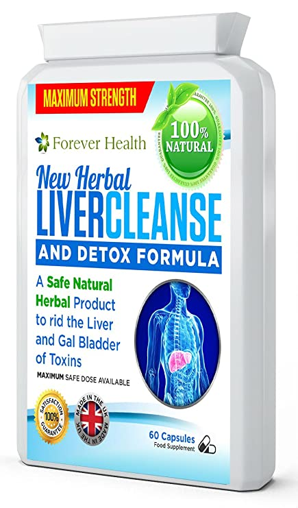 Liver Cleanse - Powerful Herbal Formula Which Gently But ...