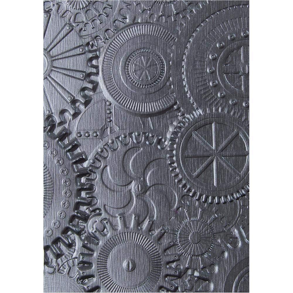 Sizzix 3-D Cartella di Goffratura Texture Fades Fonderia di Tim Holtz