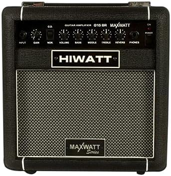 """Hiwatt G15 / 8R combo de amplificador de guitarra eléctrica con el altavoz de 8 """""""