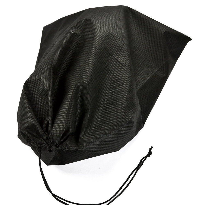 aldorado 24個不織布靴オーガナイザーストレージバッグほこり防止保護ブラック40 x 50   B06XDNXDX4