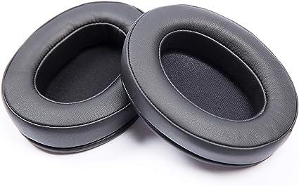Damex hm5 Replacement Ear Pads,Compatible with brainwavz HM5 (Black)