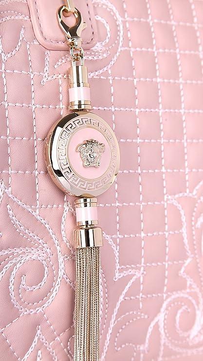 36c7988a26 Versace Women Handbag Vanitas Demetra Powder DBFD290DNAR4-K68O  Amazon.ca   Clothing   Accessories