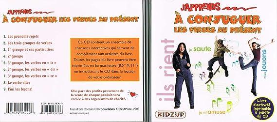 J Apprends A Conjuguer Les Verbes Au Present Kidzup Amazon Ca Music