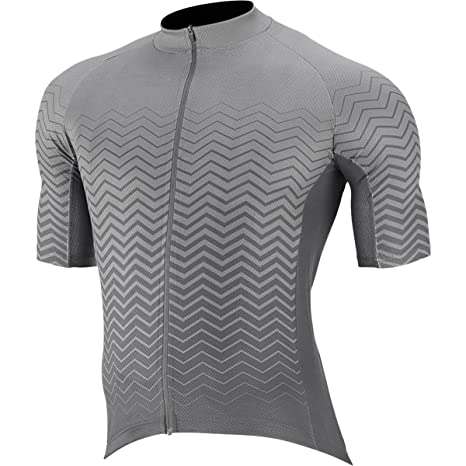 Amazon.com   Capo Corsa Jersey - Men s Grey 7fd9aae06