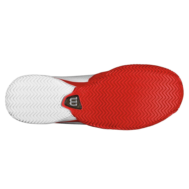 Wilson Herren Tennisschuhe Claycourt RUSH PRO rot CC weiß rot PRO Gr. 12 a82bd0
