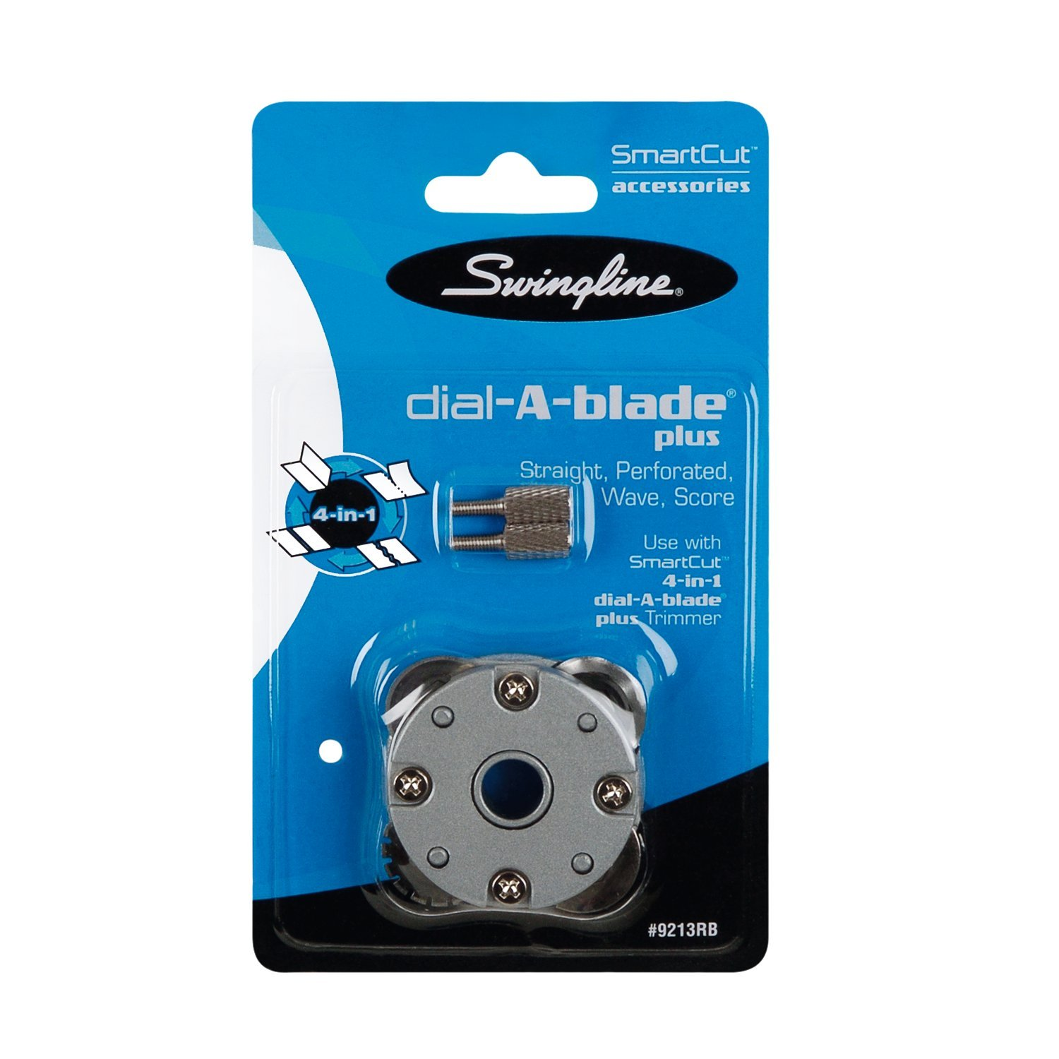 Swingline Paper Trimmer Replacement Blade, for SmartCut 4-in-1 Dial-A-Blade Plus Rotary Trimmer (9213RBA) by Swingline