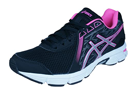 Asics Gel Impression 8 Womens Running Sneakers/Shoes-Black-6