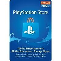 $100 PlayStation Store Gift Card - PS3/PS4/PS Vita [Digital Code]