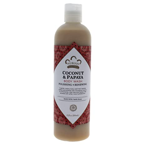 Amazon.com : Nubian Heritage Body Wash, Goats Milk and Chai, 13 Fluid Ounce : Bath And Shower Gels : Beauty