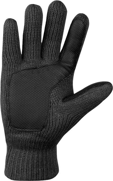 a637cfbbf952a5 normani Strick Fingerhandschuhe mit Thinsulatefütterung Winterhandschuhe:  Amazon.de: Sport & Freizeit