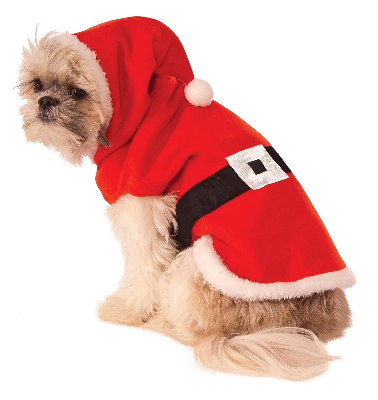Rubie's Santa Hoodie Hund Kostüm