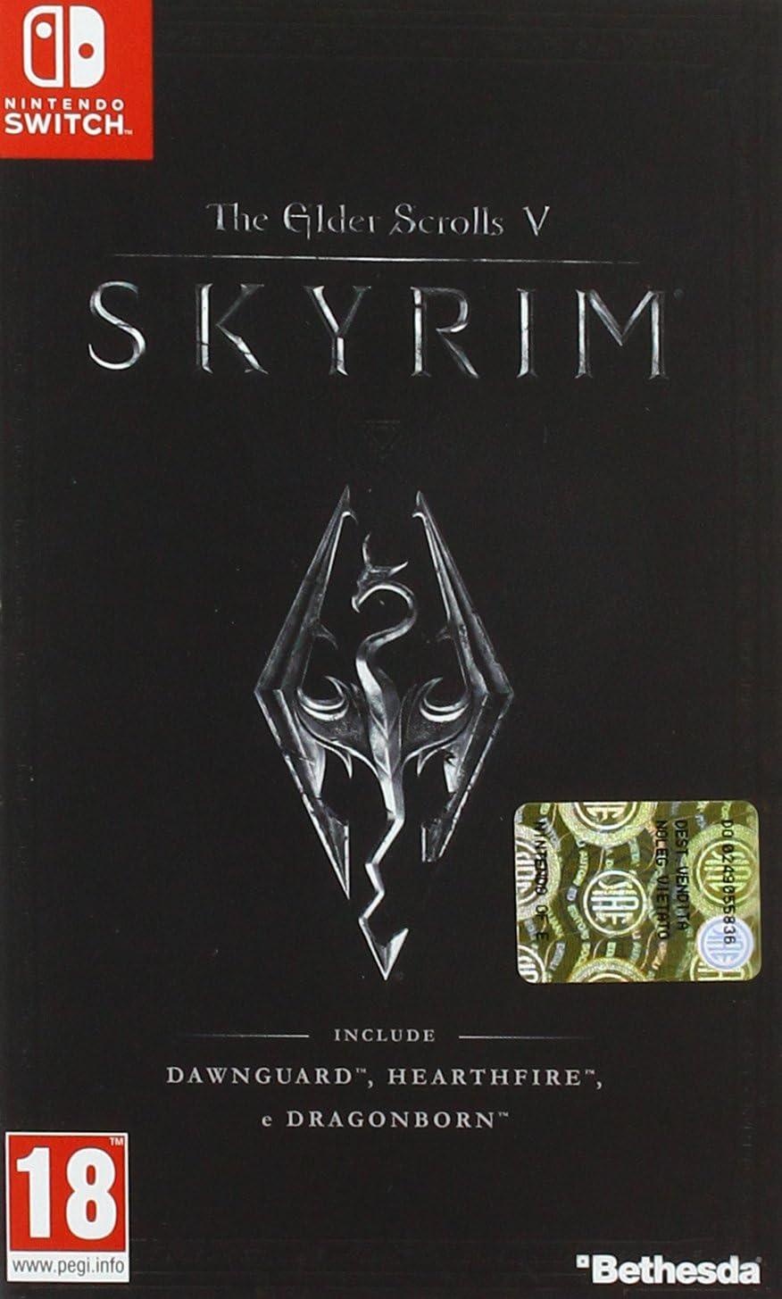 Nintendo The Elder Scrolls V: Skyrim vídeo - Juego (Nintendo Switch, Acción / RPG, M (Maduro))