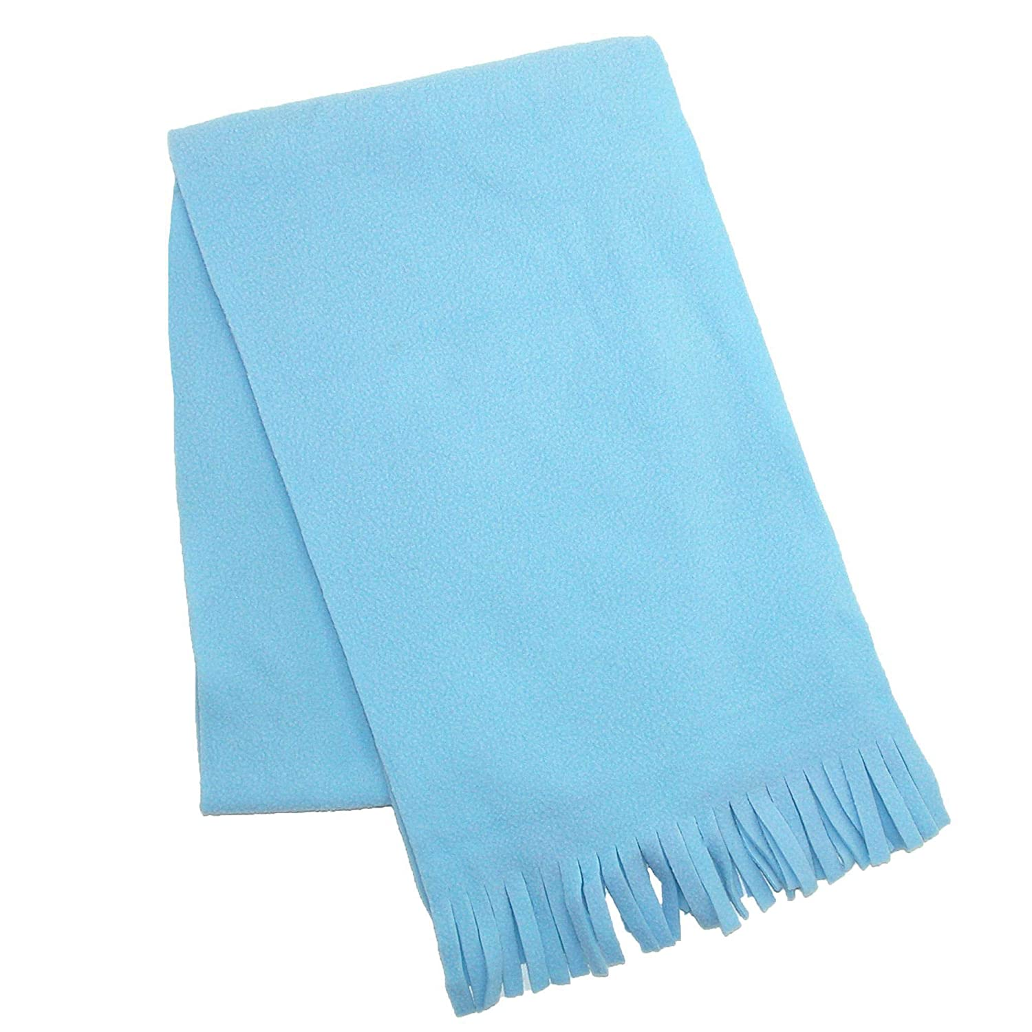Grand Sierra Kids' Fleece Winter Scarf Baby Blue