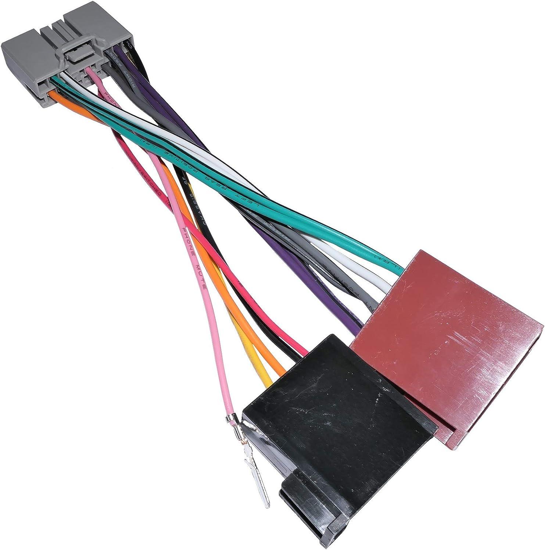Aerzetix C11914 Adapterkabel Iso Stecker Für Autoradio Auto