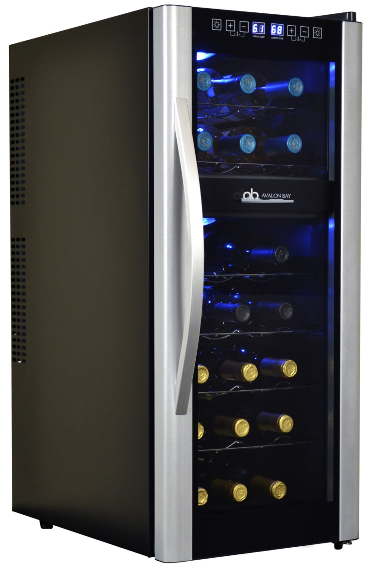 Avalon Bay AB-WINE21DS 21 Bottle Dual Zone Wine Cooler by Avalon Bay (Image #5)