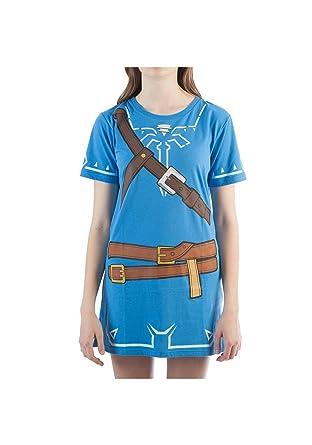 0f7cb37f5f9a Legend of Zelda Womens Breath of The Wild Zelda Link Cosplay Tunic  Small