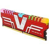 v-Color Prism RGB 8GB (1 x 8GB) DDR4 3200MHz (PC4-25600) CL16 1.35V Desktop Memory Module Ram Upgrade Gaming UDIMM -Red…