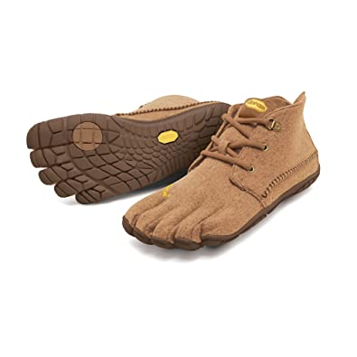 0333259e120b45 Vibram FiveFingers Women s CVT-Wool Barefoot Shoes Caramel 36 and Premium  Toesock Bundle