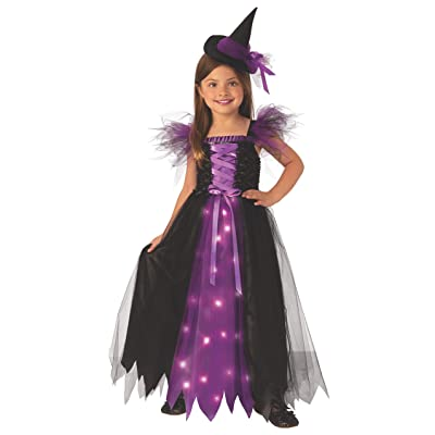 Rubie's Costume Fancy Witch Girls Child Wicked Costume: Toys & Games
