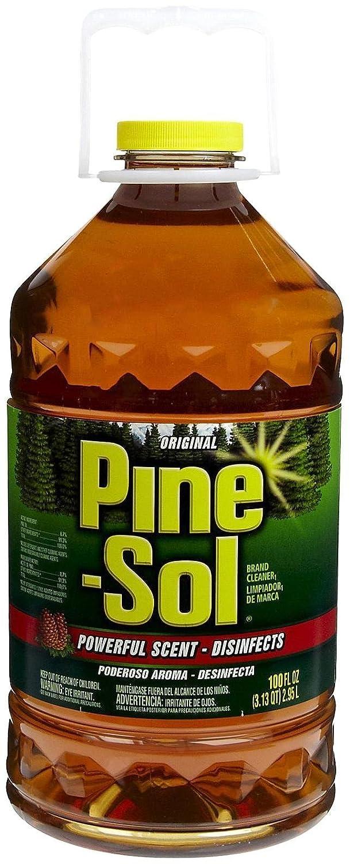 Amazon.com: Pine Sol Pine Sol Cleaner - Original - 100 oz: Health u0026  Personal Care