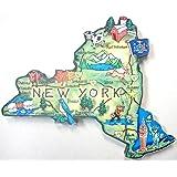 New York the Empire State Artwood Jumbo Fridge Magnet