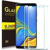 KuGi. Samsung Galaxy A9 2018 Pellicola, Samsung Galaxy A9 2018 Pellicola Protettiva [Anti-Riflesso & Anti-Bolla] [Durezza 9H] Applicare a per Samsung Galaxy A9 2018 Smart Phone (2 Pezzi)