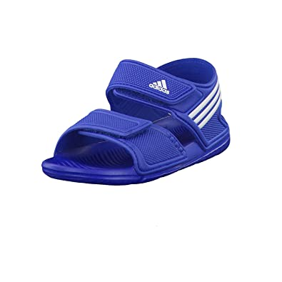 8d1b2821d24344 adidas Boys Children Boys Akwah 9 Sandals in Blue - UK 1  Amazon.co ...