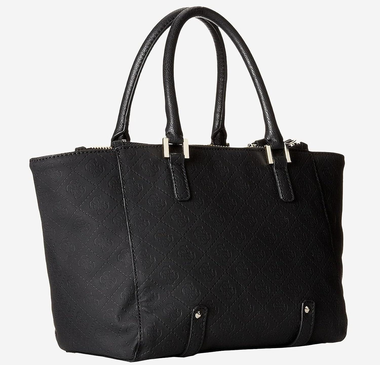 ffd58d9d9a GUESS Women s Bael Small Satchel Bag Handbag