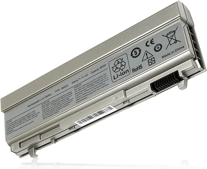 Bull 9 Cell New Laptop Battery for Dell Latitude E6400 E6410 E6500 E6510 Precision M2400 M4400 M4500 Compatible P/N: 4M529 312-0749 F8TTW PT434 PT437 KY266 FU274 FU571 MN632 MP303 MP307 W1193 KY477
