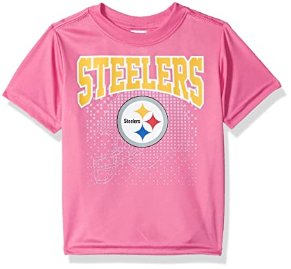 Image Unavailable. Image not available for. Color  NFL Pittsburgh Steelers  Baby-Girls Short-Sleeve ... 7b9320cdf