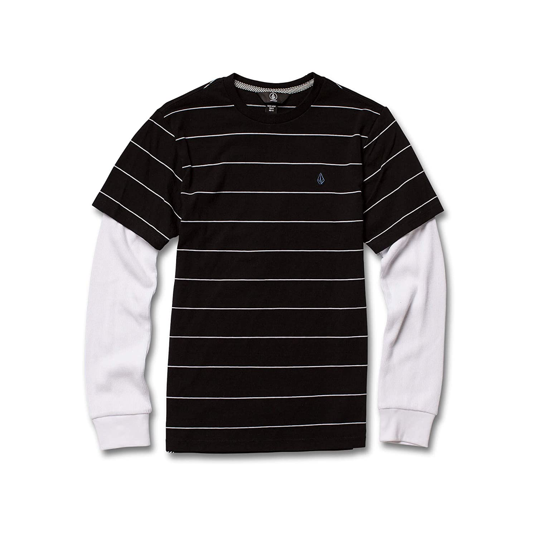 Volcom Big Boys Joben Two Fer Long Sleeve Polo Shirt: Amazon.es ...